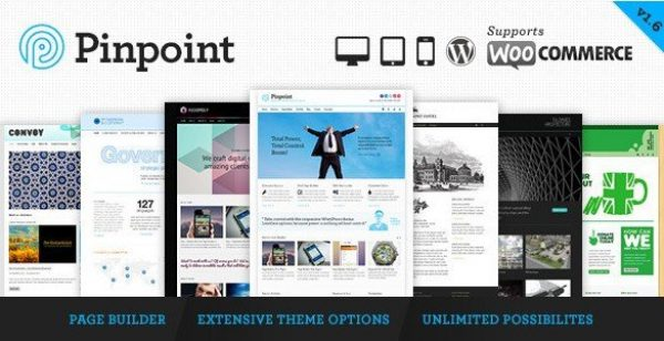 Pinpoint – Responsive Multi-Purpose WP Theme 1.7.20