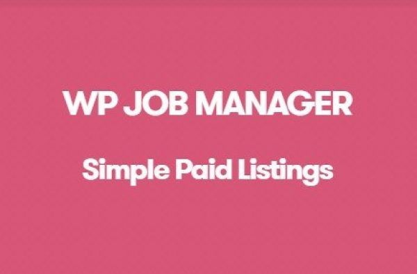 WP Job Manager Simple Paid Listings Addon 1.3.1