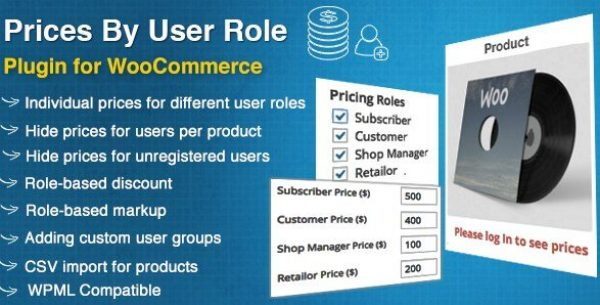 WooCommerce Prices By User Role 4.0.3