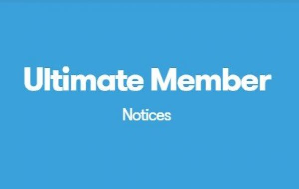 Ultimate Member Notices 2.0.3