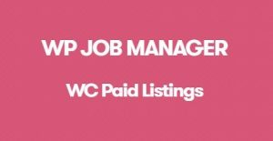 WP Job Manager WC Paid Listings Addon 2.8.1