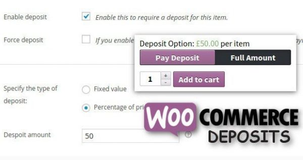 WooCommerce Deposits Partial Payments Plugin 2.3.7