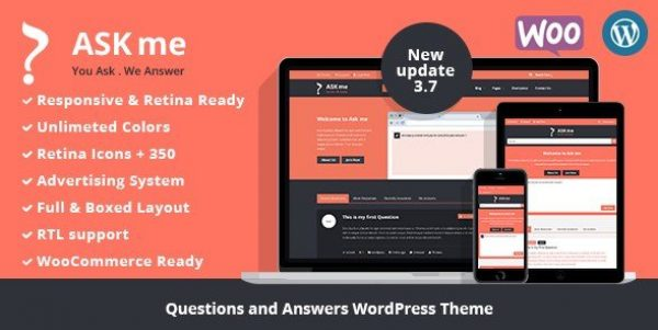 Ask Me – Responsive Questions & Answers WordPress 5.4