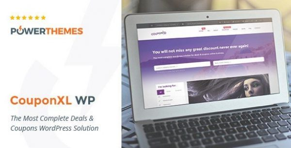 CouponXL – Coupons, Deals & Discounts WP Theme 4.1.1