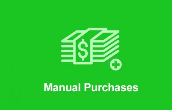 Easy Digital Downloads Manual Purchases Addon 2.0.5