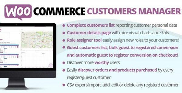 WooCommerce Customers Manager 21.5