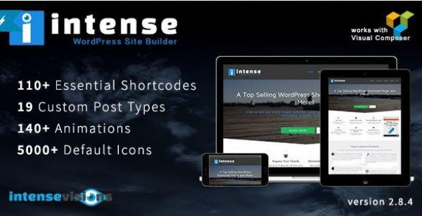 Intense – Shortcodes and Site Builder for WordPress 2.9.4