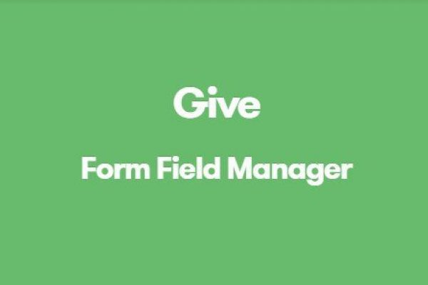 Give Form Field Manager 1.4.0