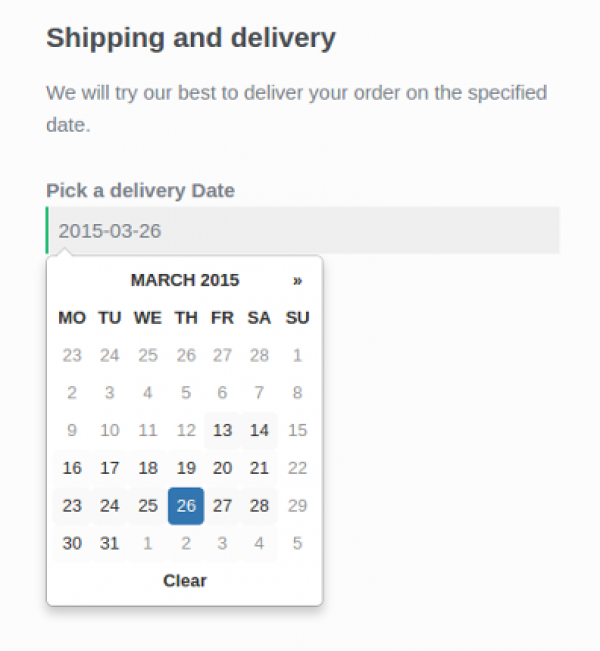 WooCommerce Order Delivery 1.5.2