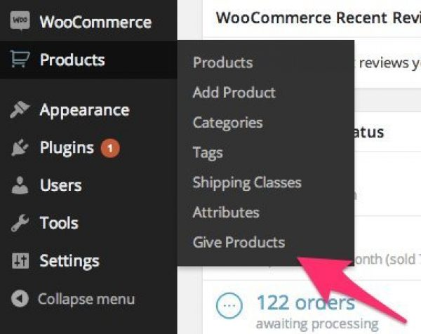 WooCommerce Give Products 1.1.2
