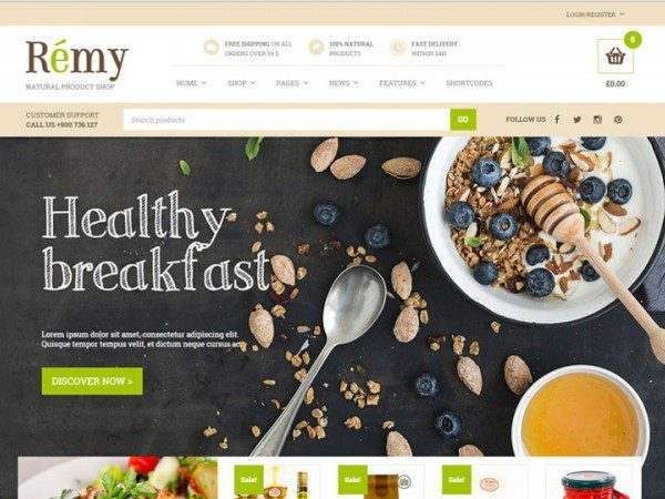 YITH Remy Premium WooCommerce Themes 1.1.9