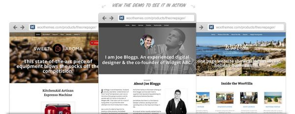 WooThemes The One Pager WooCommerce Themes 1.3.3